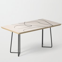 Abstract Line I Coffee Table