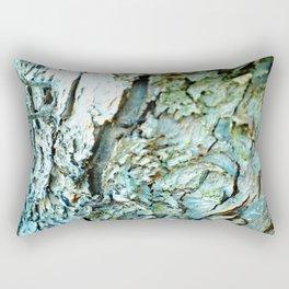 Tree Bark Color Rectangular Pillow