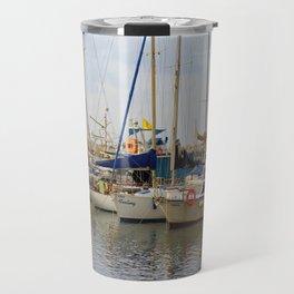A boat called Feeling Travel Mug
