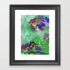 Jade Storm Framed Art Print