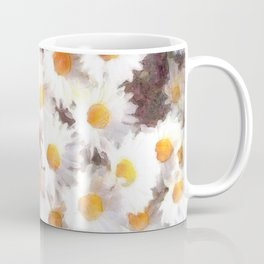 Spring Daisy Wildflower Watercolor Coffee Mug
