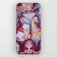 cinema iPhone & iPod Skins featuring Cinema by DustyLeaves