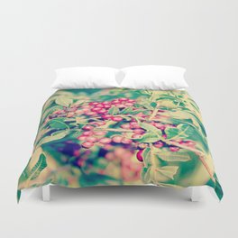Little red thingy Duvet Cover