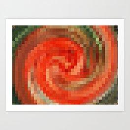 carnation flower fragrance Art Print