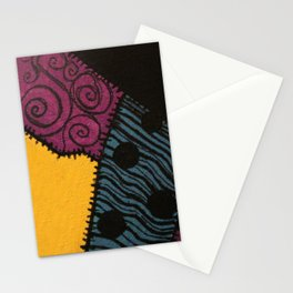 Sally's Dress Pattern - Nightmare Before Christmas Stationery Cards