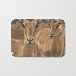 CW-001-Gazelle Bath Mat