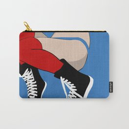 Laced Up Carry-All Pouch