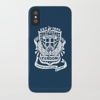 fandom iPhone & iPod Cases featuring Fandom School for the Emotionally Invested by isabloo