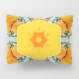 hello orange squeeze Pillow Sham