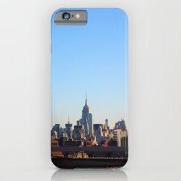 New York Urban Skyline  iPhone Case