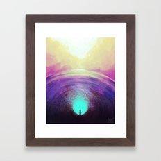 Seeking Solace Framed Art Print