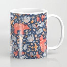 Fairy-tale forest. Folk Art. Coffee Mug