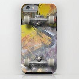 Iskate Skateboard deck case iPhone Case