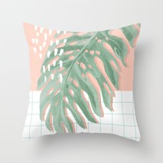 Monstah Throw Pillow
