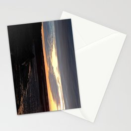 Sunset on the St-Lawrence Stationery Cards