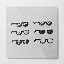 Oreo Sunglasses Metal Print
