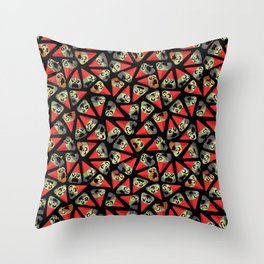 AZG (Angry zombie gnomes) Throw Pillow