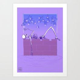 Gentle Macabre Art Print