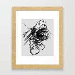 Insatiable Framed Art Print
