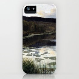 Kitty Kielland Summer Night iPhone Case
