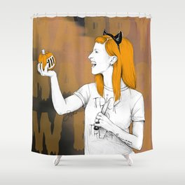 HALLOWEEN IS 365 DAYS A YEAR. Shower Curtain