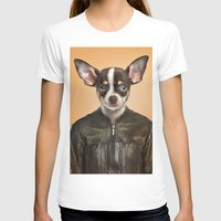 chihuahua T-shirts featuring Chihuahua  by Life on White Creative