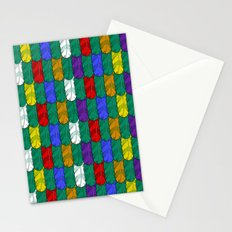 Feathers Pattern Stationery Cards