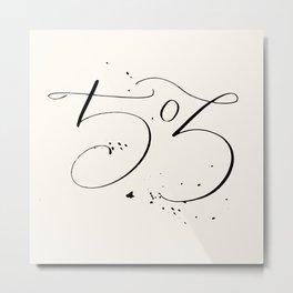 The 503 Metal Print