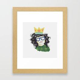 YAAS Queen Framed Art Print