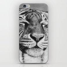 Tiger Pillow iPhone & iPod Skin