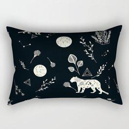 flora panther Rectangular Pillow