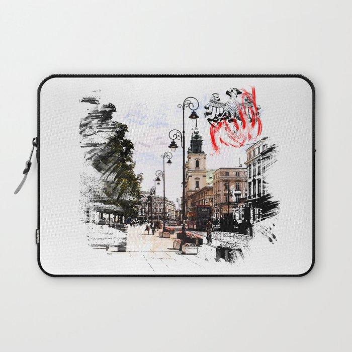 Poland - Krawkowskie Przedmiescie, Warsaw Laptop Sleeve