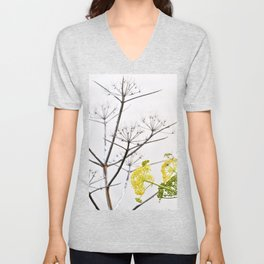 YELLOW WILD-FLOWERS of Sicily Unisex V-Neck