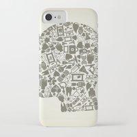 medicine iPhone & iPod Cases featuring Head medicine by aleksander1