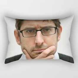 Louis Theroux, from the BBC 2019 Rectangular Pillow