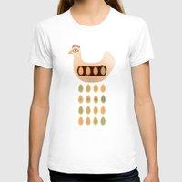 chicken T-shirts featuring Chicken by Mira Maijala