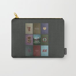 Twin Peaks colors Carry-All Pouch