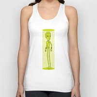 captain silva Tank Tops featuring Captain by Derek Eads
