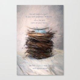 Bird Nest 4 Canvas Print