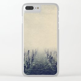 vineyards Clear iPhone Case