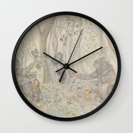 clearing Wall Clock