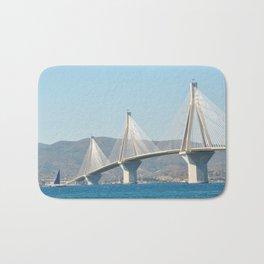 Rio Antirrio Bridge Bath Mat