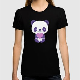 Cute purple baby pandas T-shirt