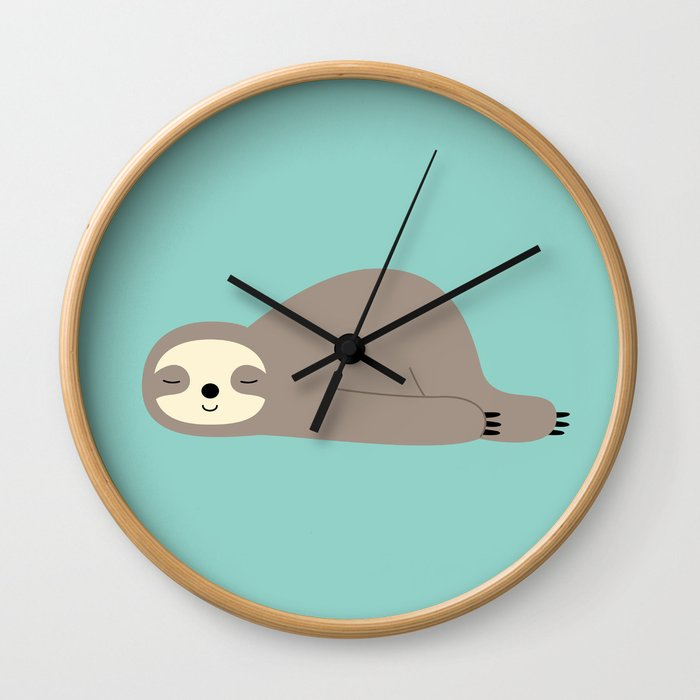 Do Nothing Wall Clock