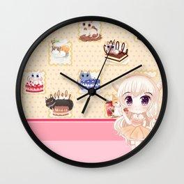 MMM Dessert! Wall Clock