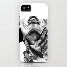 Lost in Monochrome iPhone Case