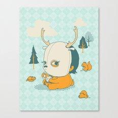 Esquilophrenic Canvas Print