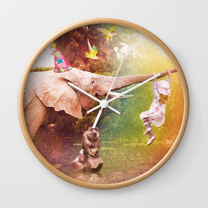 The Jungle Book Wall Clock