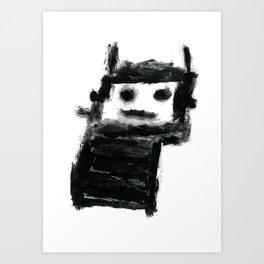 Jack's Monster Art Print