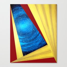 View Into My Universe Canvas Print